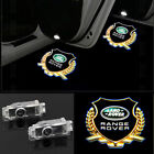 2x CREE Projector LED Light Door Logo For Land Rover Discovery/Range Rover 10-16