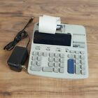 TEXAS INSTRUMENTS TI-5033 SV SUPER VIEW 12 DIGITS PRINTING OFFICE CALCULATOR