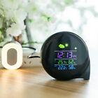 Digital Thermometer Hygrometer LED Clock Alarm Clock Weather Forecast Calendar