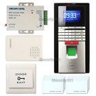 Realand Smart Time Attendance Recorder Clock Bio Fingerprint+ID+Password Package