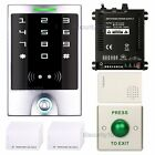 RFID ID Card Access Control Reader System Kit Waterproof Keypad