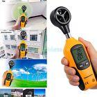 Digital Anemometer Wind Speed Gauge LCD Mini Handheld W/ Vane Sensor for Sailing