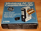 NOS General Electric Miniature Hand Held Voice Recorder Tape Cassette w/ box