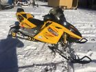 SKIDOO REV 600HO SNOWMOBILE WITH 1+1 seat
