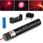 Powerful Military 532nm 303 Green Laser Pointer Pen Burning Beam Charger Red