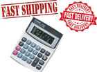 Hand Held Calculator Keypad Electronic Dual Source Solar Battery Large Display