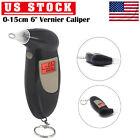 Portable Breath Alcohol Tester  LCD Digital Police Tester Keychain Breathalyzer