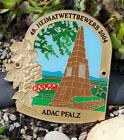 ENAMEL GERMAN AUTOMOBILE CAR BADGE # ADAC PFALZ HOME RALLY 2004 porsche mercedes