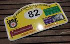 AUTOMOBILE CAR SIGN / PLAQUE # SCHWARZWALD CLASSIC DAYS GERMAN VETERAN CLUB 2010