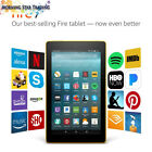 """Fire 7 Tablet with Alexa, 7"""" Display, 8 GB, Canary Yellow - with Special Offers"""