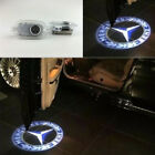 2x LED Benz Logo door Projector light For Mercedes Benz S CL SL CLass 2006-2013