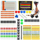 Electronic Starter Kit for Arduino Resistor Buzzer Breadboard LED Cable