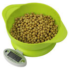Digital Electronic Kitchen Scale  Lcd Display Practical Weight Tool Bowl 3 types