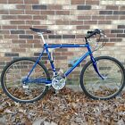 Jamis Dakar Mt Bike 1988 Triple Butted Cro-Mo Tange frame, blue, large frame-20""