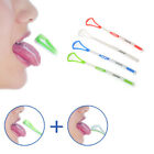 Oral Care Hygiene Cleaning Scraper Brush Dental Tongue Double-sided Cleaner