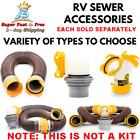 RV Sewer Hose 10 feet 15 And 20 Feet UV Stabilized HTS Vinyl Made In The USA New