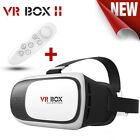 Virtual Reality VR BOX II generation Glasses with Remote Control White Glasses