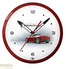 """PONTIAC SOLSTICE RED Neon 20"""" Wall Clock Made in the USA - 1 Year Warranty New"""