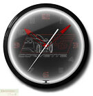 """CORVETTE C6 BLACK Car Neon 20"""" Wall Clock Made in the USA - 1 Year Warranty New"""