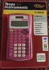 Texas Instruments TI-30X IIS 2-Line Scientific Calculator, Pink , Solar, Battery