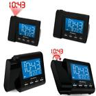 Electrohome EAAC601 Projection Alarm Clock with AM/FM Radio, Battery Backup, Aut