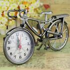 Table Alarm Clock Creative Vintage Retro Style Bicycle Watch Home Art Decor New