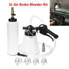 1L Brake Oil Fluid Bleeder Air Extractor Kit Clutch Bleeding Refill Bottle Kit