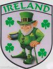 Ireland Irish leprechaun Flag Vinyl Car Window Sticker