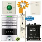Access Control Password Home Kit + Electric Bolt Door Lock NC Fail Safe