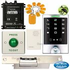 DIY Access Control Entry Home Kit + Electric Strike Door Lock NC Fail Safe