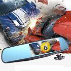 "1080P Full HD 4.3"" Video Recorder Dash Cam Rearview Mirror Car Camera DVR NewZY"