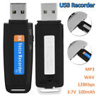 Mini USB Digital Pen Audio Voice Recorder Dictaphone 8GB Flash Drive U-Disk