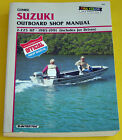 Clymer Suzuki Outboard Shop Manual 2-225 HP  1985-1991 (includes Jet Drives)