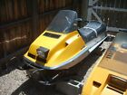 1978 Ski-Doo Bombardier 444 Liquid Cooled Snowmobile 2103 Miles One Owner Runs