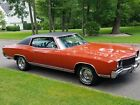 1972 Chevrolet Monte Carlo  1972 Chevrolet Monte Carlo / NO RESERVE / PRICED TO SELL