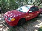 2000 Mazda Protege DX 2000 MAZDA PROTEGE DX Red.