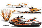 Sea Doo GTI/GTR/GTS HD Sitdown Jet Ski SeaDoo Graphic Wrap Kit 2011-18 CARBON OR