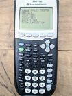 Texas Instruments TI-84 Plus Graphing Calculator With Cover Navy Blue Gray