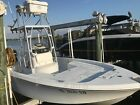 Inshore Fishing Boat with 10ft Helm Tower-Evinrude eTech 225 Motor-Powerpole