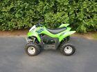 2014 Kawasaki KFX50 Quad ATV 49.5cc - Original Owner - Like New