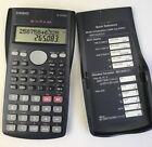 Casio FX-82MS Scientific Calculator and Cover Working Condition