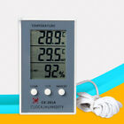 LCD Digital Thermometer Hygrometer In / Out Humidity Meter  Indoor Fish Tank