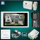 """HOMSECUR 7"""" Wired Video&Audio Home Intercom Electric Lock+Keys Included 1C1M"""