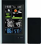 Wireless Weather Station with Indoor / Outdoor Wireless Sensor And USB Charge –