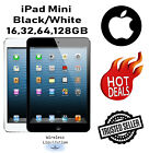 Apple iPad Mini 1st Gen Black/White 16GB 32GB 64GB Wi-Fi ---Plus 1 Year Warranty