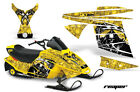 AMR SNOWMOBILE SKI DOO MINI Z SLED GRAPHICS KIT REAPER