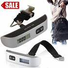 50kg/110 lb Electronic Digital Portable Luggage Hanging Weight Scale USAShip@