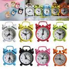 Fashion Candy Color Analog Alarm Clock Home Portable Cute Mini Desk Clock
