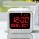 Kitchen Living Temperature Hygrometer Display Screen Clock 3 Group Wake-up Clock
