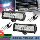 """4x 4"""" Led Work Lights Pods Spot Offroad Lamp For ATV JEEP CAR UTE Truck 4"""" Cube"""
